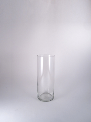 7.25 in. Glass Cylinder Vase