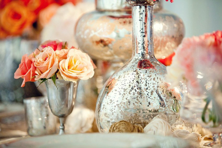 Inspiration Mercury Glass Ultrapom Wedding And Event