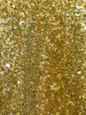 Sequin Runner – Bright Gold 13 x 120