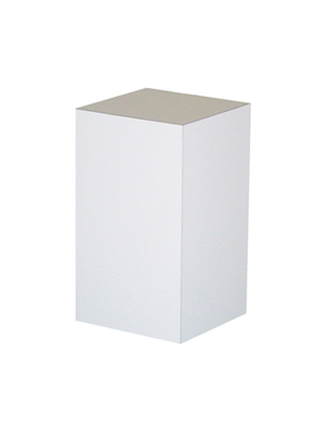White Pedestal – 24 in. Tall