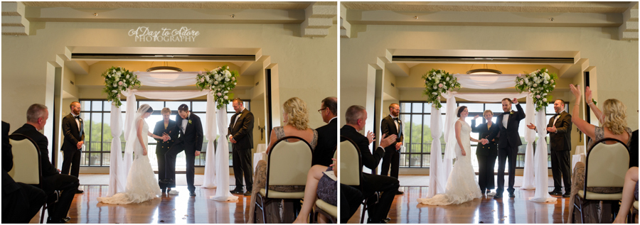 simple modern chuppah jewish wedding glass breaking
