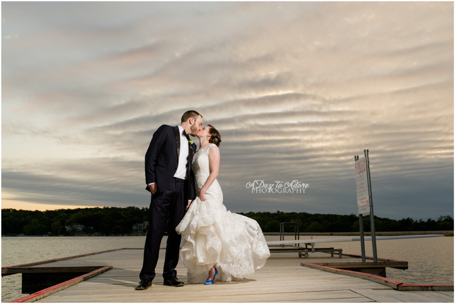 lake quivira wedding