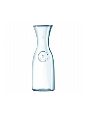 One Liter Glass Carafe