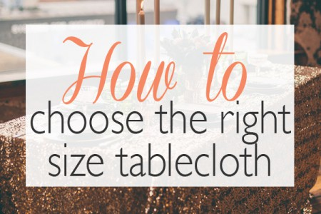 handy info on tablecloth sizing. Pin for later! - Ultrapom Event Rental