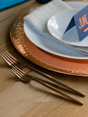 Burnished Copper Flatware – Dinner Fork