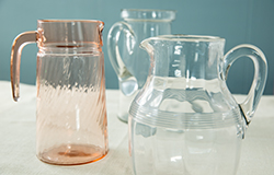Vintage Pitchers – Assorted Glass