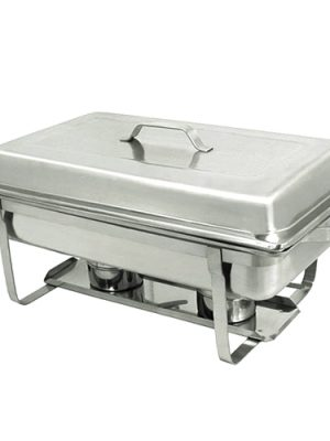 Chafer – Rectangle Stainless, 8 qt.
