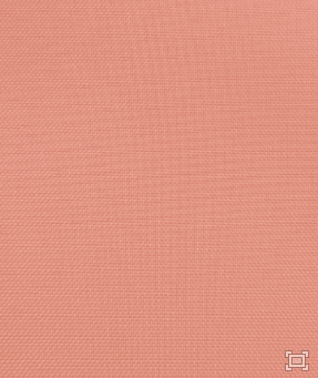 Solid Polyester Linen – Coral