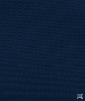 Solid Polyester Linen – Navy