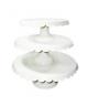 Tiered Cake Stands – Ivory Scalloped